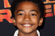 """Actor Miles Brown attends the Screening of Disney XD's """"Star Wars Rebels: Spark of Rebellion"""" at the AMC Century City 15 theater on September 27, 2014 in Century City, California."""