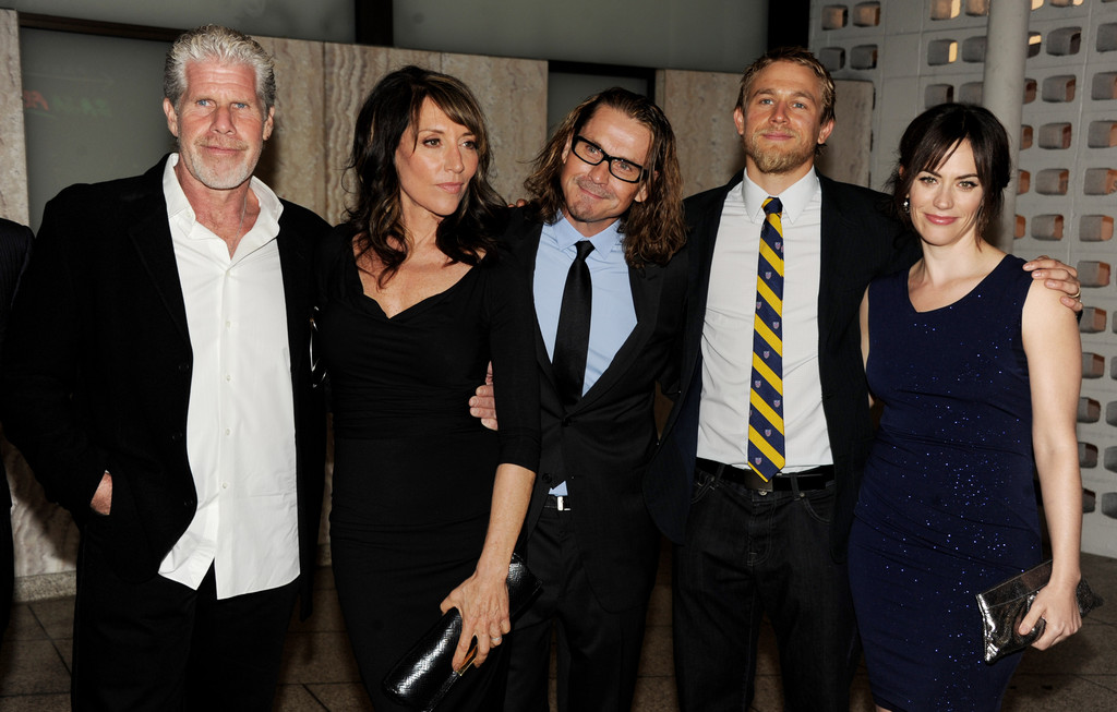 Charlie Hunnam and Maggie Siff Photos Photos - Screening ...