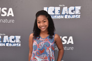 "Actress Laya DeLeon Hayes attends the screening of ""Ice Age: Collision Course"" at Zanuck Theater at 20th Century Fox Lot on July 16, 2016 in Los Angeles, California."