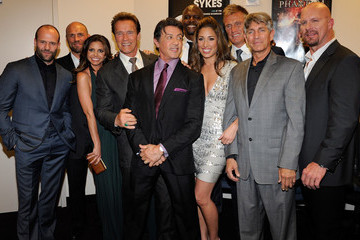 """Sylvester Stallone Dolph Lundgren Screening Of Lionsgate Films' """"The Expendables"""" - Arrivals"""