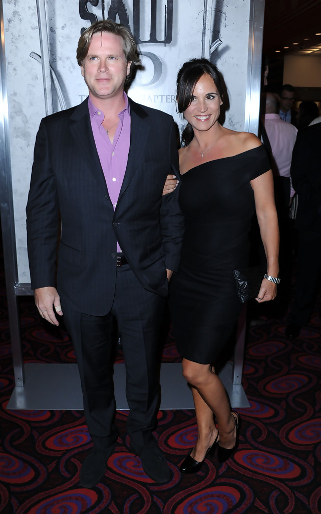 cary elwes in screening of lionsgates quotsaw 3dquot arrivals
