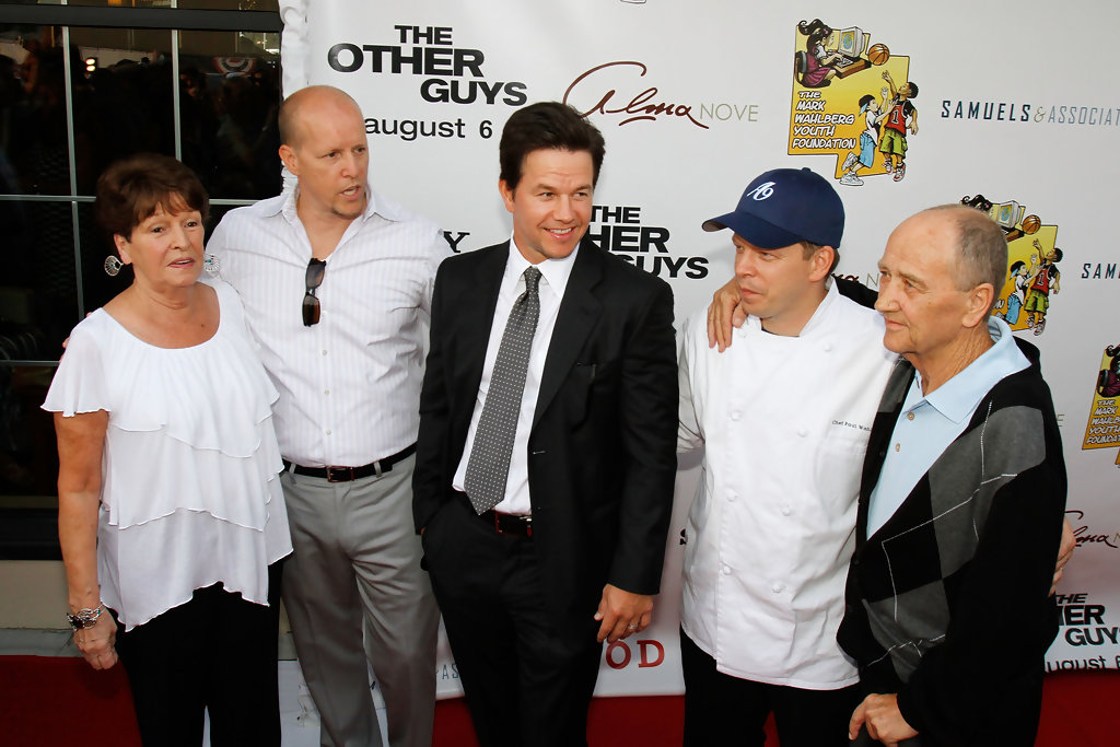 Paul Wahlberg Family Source: getty images