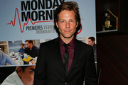 Actor Jamie Bamber attends the screening of TNT's 'Monday Mornings' at BOA Steakhouse on January 24, 2013 in West Hollywood, California.