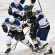 Sean Bergenheim St Louis Blues v Minnesota Wild - Game Three