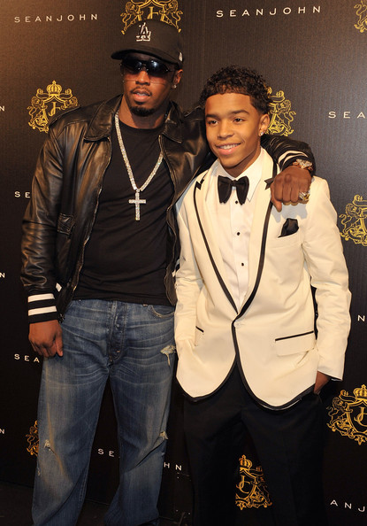 Photo of Sean Combs & his  Son  Justin