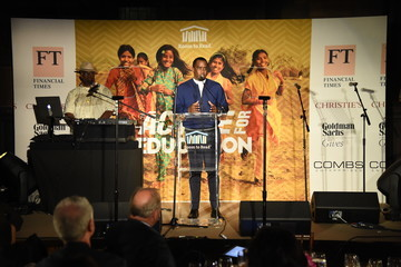 Sean Combs Room to Read Honors Sean 'Diddy' Combs & David M. Solomon for Impact on Global Education at 2017 New York Gala - Inside