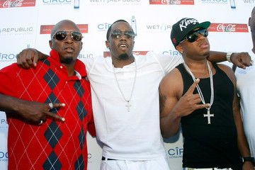 "Damon Thomas Sean ""Diddy"" Combs Hosts the Definitive Daylife Affair At Wet Republic"