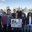 Sean Douglas Thomas Rhett Celebrates Double Number Ones