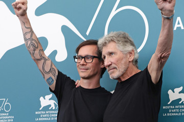 """Sean Evans """"Roger Waters Us And Them"""" Photocall  - The 76th Venice Film Festival"""