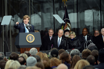 Sean O'Malley The Edward Kennedy Institute Holds Dedication Ceremony