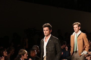Sean O'Pry Billy Reid - Front Row - Spring 2013 Mercedes-Benz Fashion Week