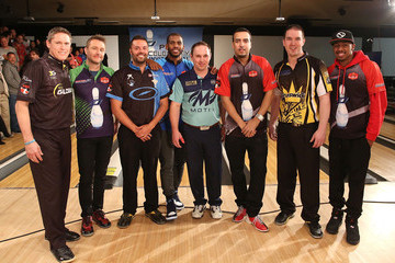 Sean Rash Chris Paul PBA Celebrity Invitational Bowling Tournament