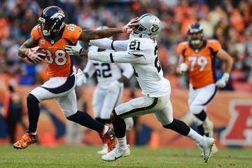 Sean Smith Oakland Raiders v Denver Broncos
