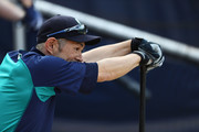 Ichiro Suzuki #51 of the Seattle Mariners looks on before the game against the Boston Red Sox at Fenway Park on June 22, 2018 in Boston, Massachusetts.