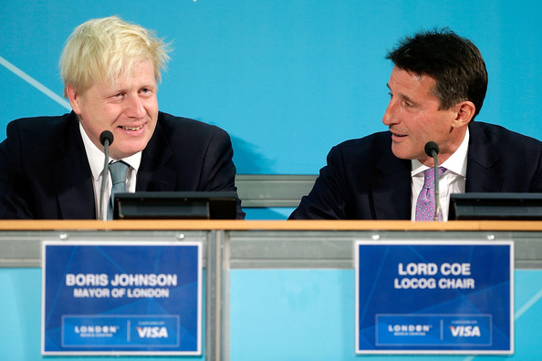 Mayor Of London Boris Johnson Hosts A Press Conference To Discuss The Success Of The Olympic Games