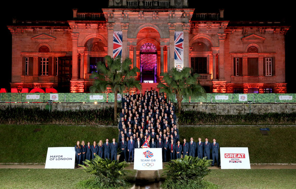 Team GB - British House Reception & Flagbearer Photocall []