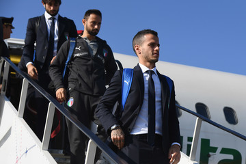 Sebastian Giovinco Italy Travels To Poland