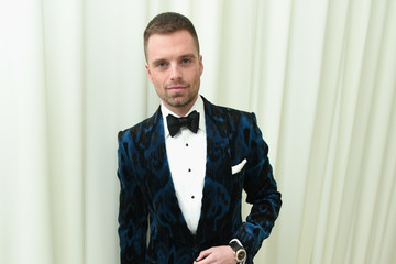 Sebastian Stan 26th Annual Elton John AIDS Foundation Academy Awards Viewing Party With Cocktails by Clase Azul Tequila