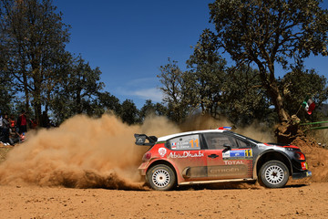 Sebastien Loeb FIA World Rally Championship Mexico - Day One