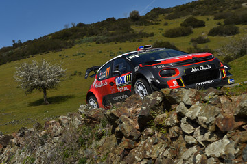 Sebastien Loeb FIA World Rally Championship France -  Day Two