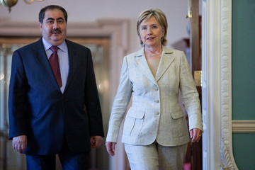 Hoshyar Zebari Sec Of State Hillary Clinton Meets With Iraqi Minister Of Foreign Affairs