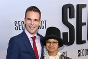 "Alan Aisenberg and Charlyne Yi attend the world premiere of ""Second Act"" at Regal Union Square Theatre, Stadium 14 on December 12, 2018 in New York City."