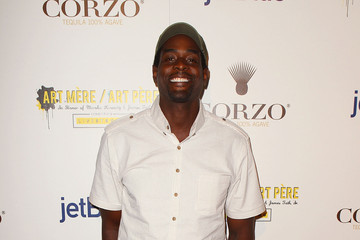 Chris Webber The Second Annual Art Mere/Art Pere Night Presented By CORZO Tequila And Ferrari - Red Carpet
