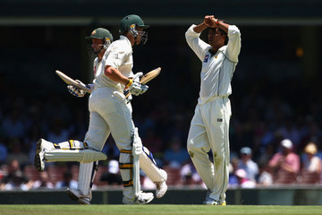 Mohammad Sami Second Test - Australia v Pakistan: Day 4