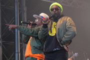 Rappers apl.de.ap (L) and will.i.am of The Black Eyed Peas perform at Secret Solstice Festival powered by Icelandic Glacial on June 22, 2019 in Reykjavik, Iceland.