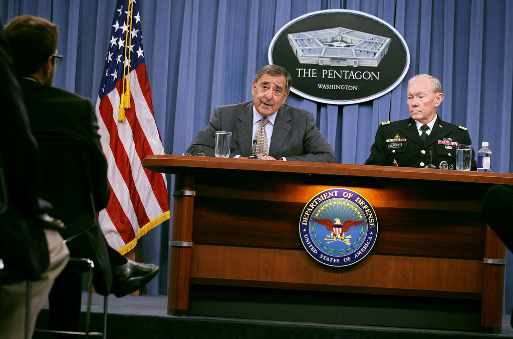 Secretary of defense panetta and chairman of the joint for Chair joint chiefs of staff