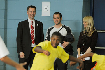 Jeremy Hunt Secretary of State Jeremy Hunt and Sir Trevor Brooking at Coaching for Hope