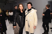 Designer Garance Dore (R) attends the Intel party during New York Fashion Week: The Shows at Clarkson Sq on February 12, 2016 in New York City.