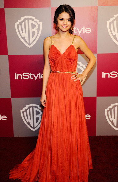 Selena Gomez Actress/singer Selena Gomez arrives at the 2011 InStyle And