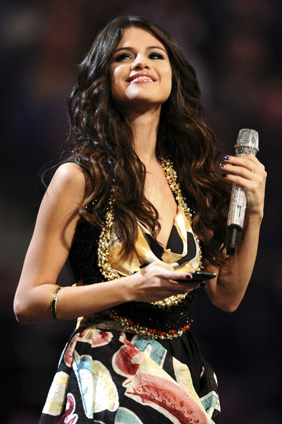 Selena Gomez MTV Europe Music Awards Hostess Selena Gomez onstage during the MTV Europe Music Awards 2011 live show at the Odyssey Arena on November 6, 2011 in Belfast, Northern Ireland.