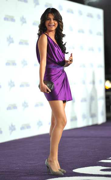 "Selena Gomez Singer/actress Selena Gomez arrives at the premiere of Paramount Pictures' ""Justin Bieber: Never Say Never"" held at Nokia Theater L.A. Live on February 8, 2011 in Los Angeles, California."