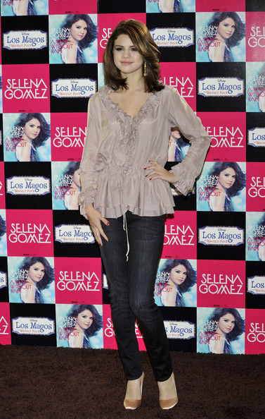 "Selena Gomez Singer and actress Selena Gomez presents her new album ""A Year Without Rain"" at the ME Hotel on October 18, 2010 in Madrid, Spain."