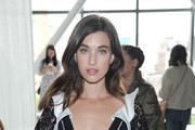 Actress  Rainey Qualley attends the Self-Portrait Spring Summer 2019 New York Fashion Week on September 8, 2018 in New York City.