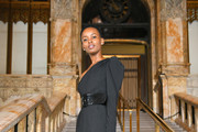 Flaviana Matata attends Self-Portrait Spring Summer 2020 -Front Row – New York Fashion Week on September 07, 2019 in New York City.