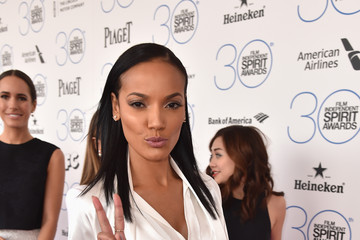 Selita Ebanks 2015 Film Independent Spirit Awards - Red Carpet
