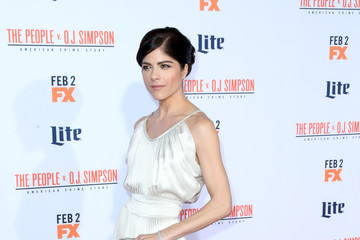 Selma Blair Premiere of FX's 'American Crime Story - The People V. O.J. Simpson' - Arrivals