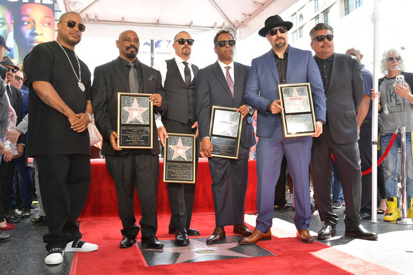 Cypress Hill Honored With Star On The Hollywood Walk Of Fame [event,award,carpet,red carpet,technology,team,flooring,stage equipment,vehicle,cypress hill honored with star on the hollywood walk of fame,senen,xzibit,sen dog,dj muggs muggerud,eric ``bobo correa,lawrence,reyes,freese,louis ``b-real]