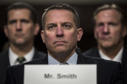 Scott Smith, assistant director for the Cyber Division at the Federal Bureau of Investigation (FBI), testifies during a Senate Armed Services Committee hearing concerning the roles and responsibilities for defending the nation against cyber attacks, on Capitol Hill, October 19, 2017 in Washington, DC. Rob Joyce, the Trump administration's cybersecurity coordinator and member of the National Security Council, was invited to testify but did not appear at the hearing. Committee chairman Sen. John McCain (R-AZ) accused the White House of blocking Joyce's appearance before the committee.