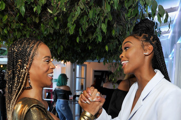 Serayah COVERGIRL Hosts A Sneak Peek Into Its Fall 2018 Makeup Line With COVERGIRL'S SVP, Ukonwa Ojo