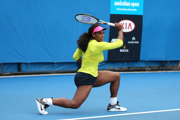 Williams Australia  city pictures gallery : Serena Williams Serena Williams of the United States plays a forehand ...