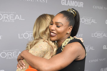 Serena Williams Glamour Celebrates 2017 Women Of The Year Awards - Backstage