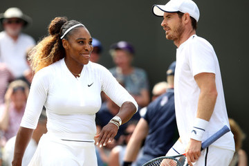 Serena Williams Andy Murray Day Nine: The Championships - Wimbledon 2019