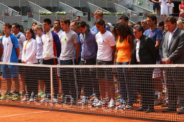Serena Williams Andy Murray Mutua Madrid Open - Day Two