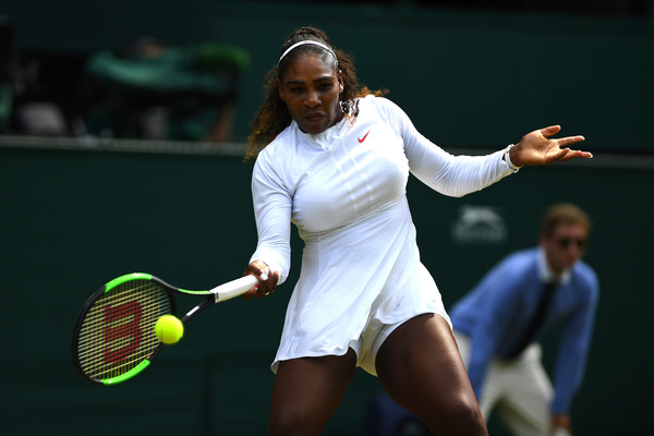 Serena Williams Surges Into Wimbledon Quarter-Finals With 62-Minute Win