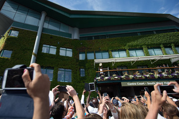 Serena Williams Wimbledon Tennis Championship - Day 12