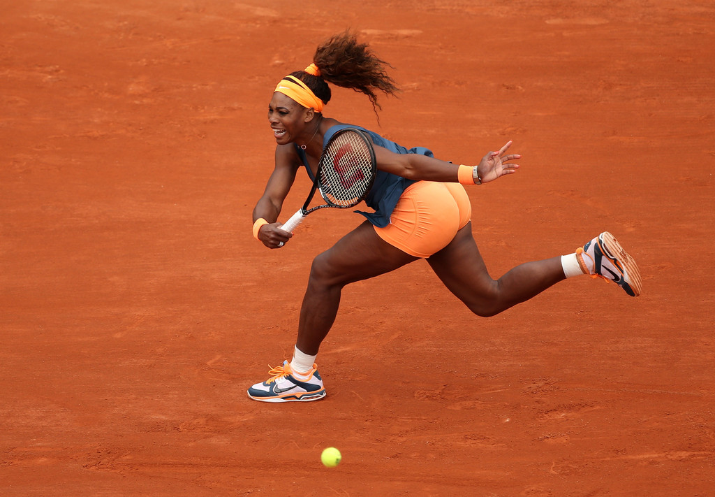 Serena Williams - French Open: Day 1